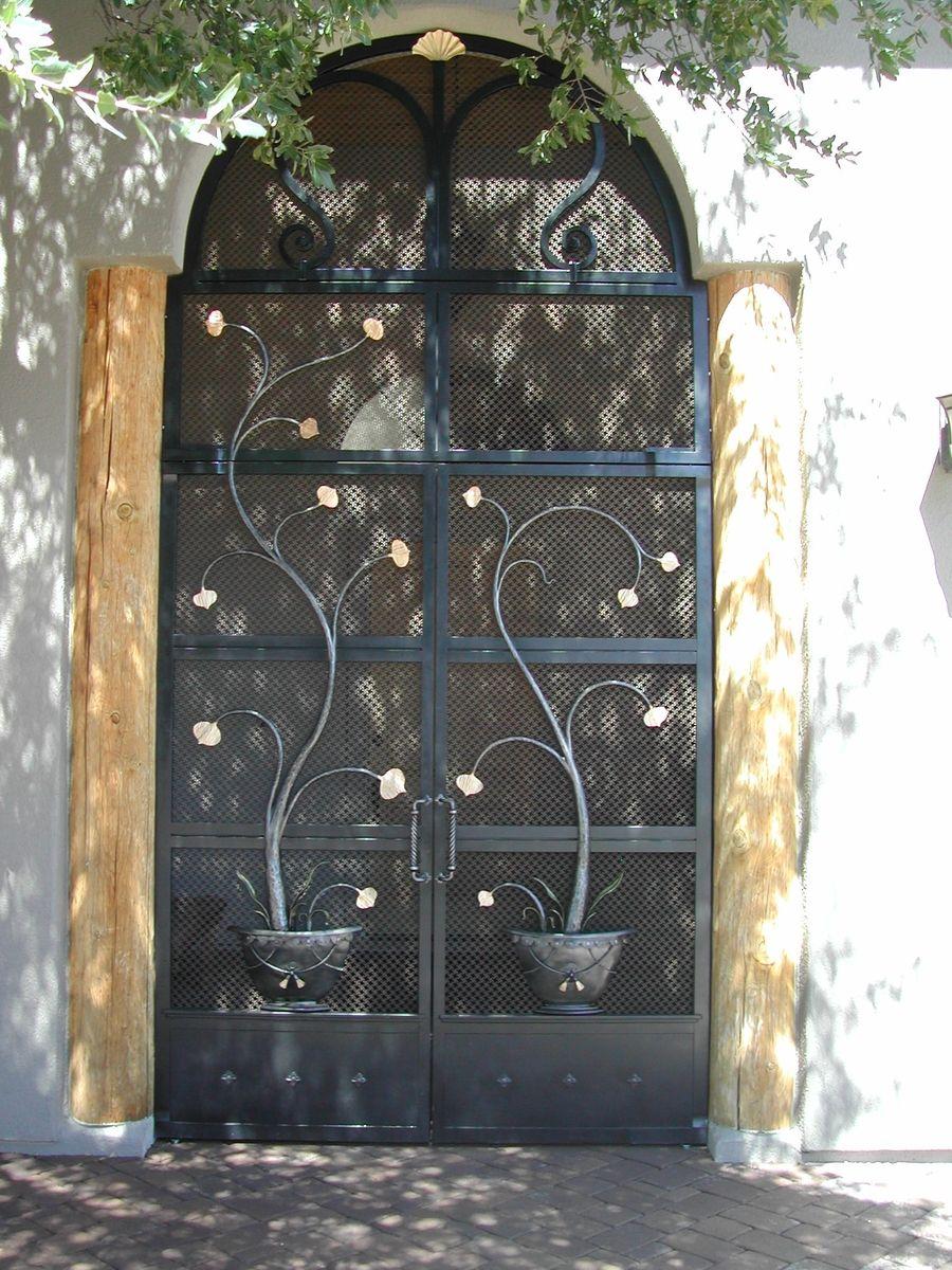 Custom Vestibule Screen Doors By Brian Hughes Artist Blacksmith