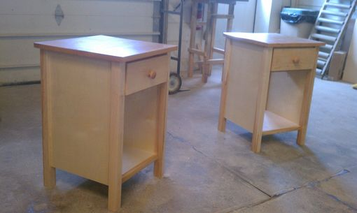 Custom Made 1 Drawer Night Stand