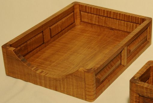 Custom Made Wooden Paper Tray