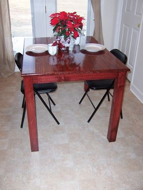 Custom Made Reclaimed Pine Dining Table