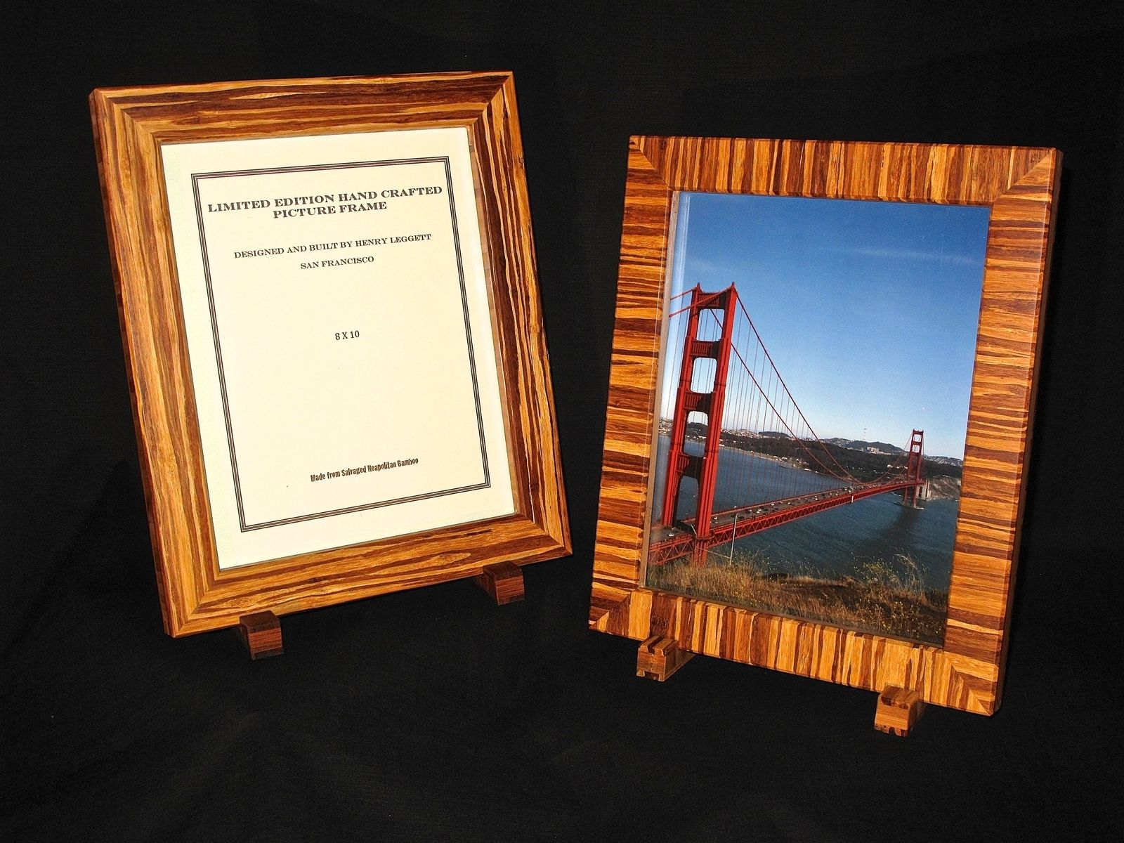 Buy handmade bamboo frames made to order from design trifecta llc custom made bamboo frames jeuxipadfo Images
