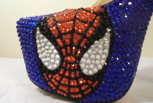 Custom Made Spiderman Heels
