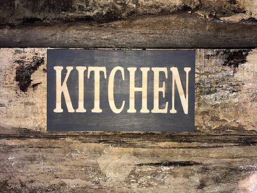 Custom Made Kitchen Wooden Sign | Rustic Sign | Farmhouse Style Sign | Wall Decor