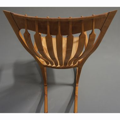 Custom Made Jos. Lamerton Rocking Chair (Alder With Walnut Accents)
