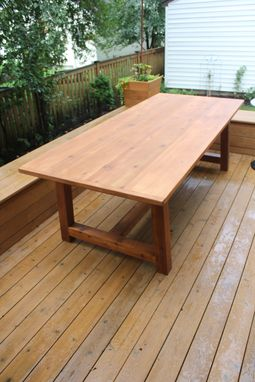 Custom Made Outdoor Dining Table