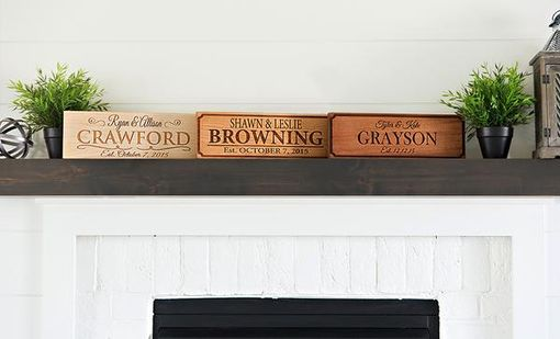 Custom Made Personalized House Signs (5x15)