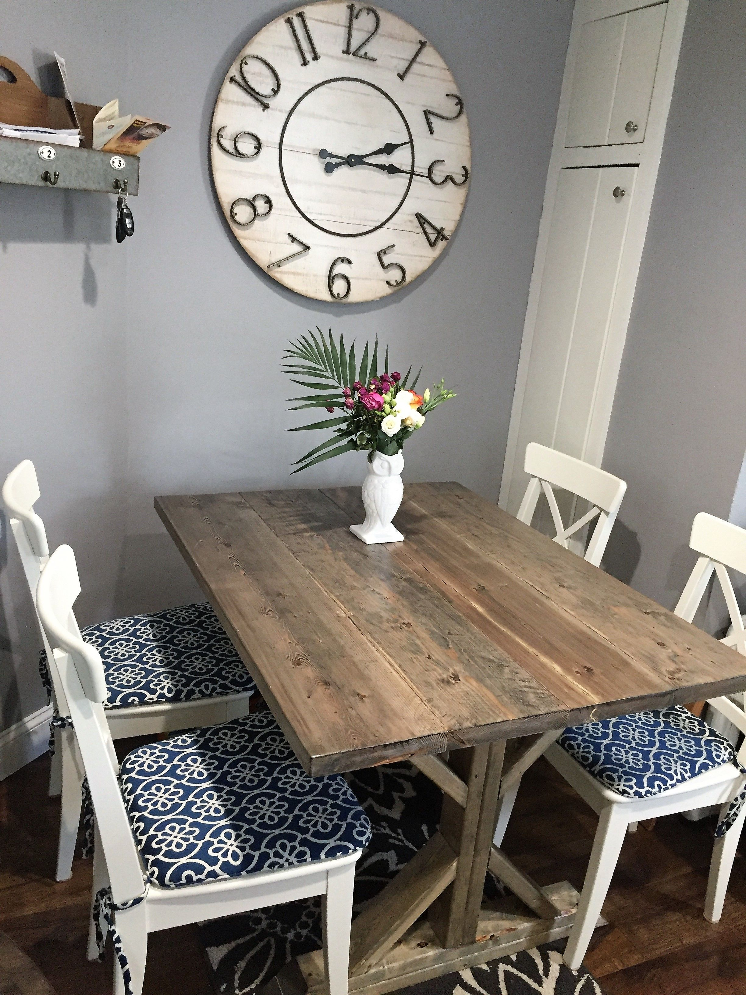 Buy A Hand Made Rustic Beachy Farmhouse Trestle Dining