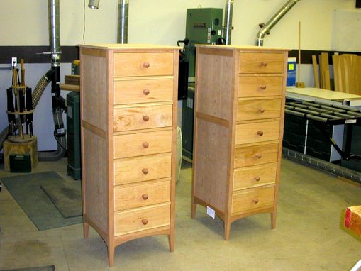 Custom Made Solid Cherry Lingerie Chests