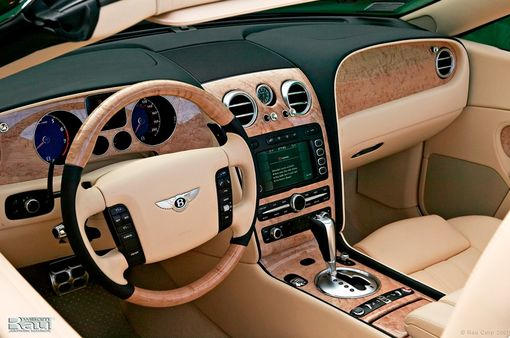 Custom Made Bentley Continental Gt Steering Wheels