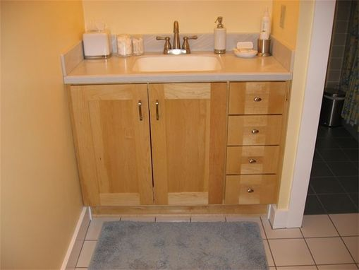 Custom Made Maple Vanity