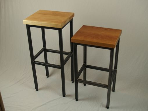 Custom Made Industrial Stool