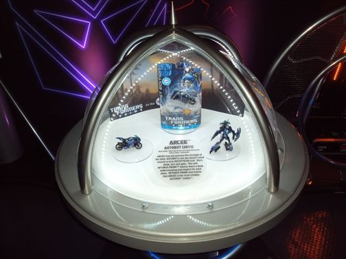 Custom Made Custom Scenic Elements To Promote The Transformers Movies