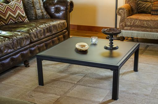 Custom Made Modern Coffee Table - Occasional Table