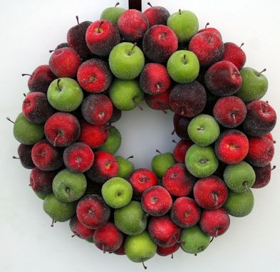 Custom Made Sugared Apple Wreath