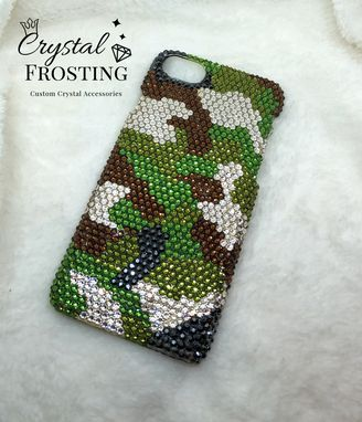 Custom Made Crystal Covered Phone Case