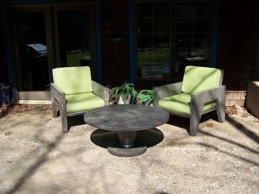Handmade The Portland Concrete Lounge Chair By Natural