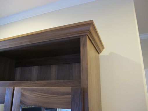 Custom Made Walnut Armoire