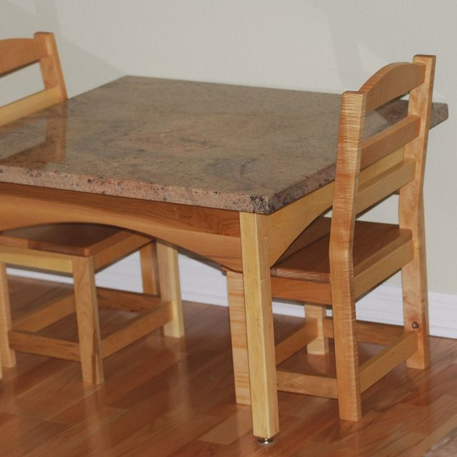 Hand Crafted Childrens Table And Chair Set by Memphis Woodwork\'s ...