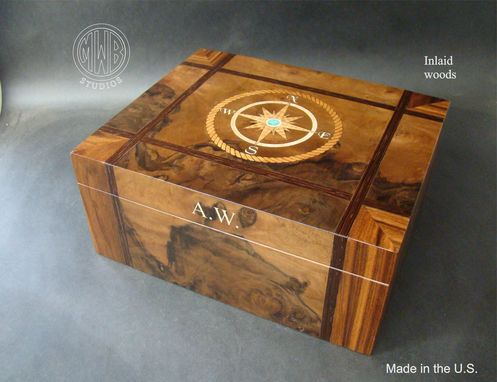 Custom Made Custom Humidor Handcrafted In The U.S. Hd50 With Free Shipping.