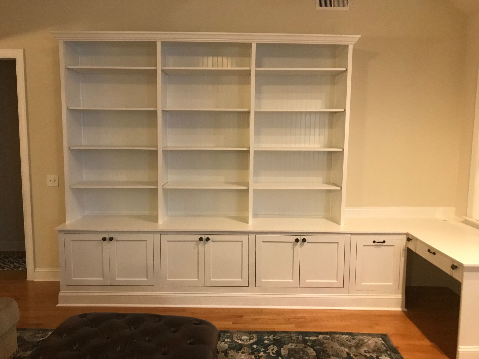 Hand Crafted Custom Built Ins By Bluejay Woodworking