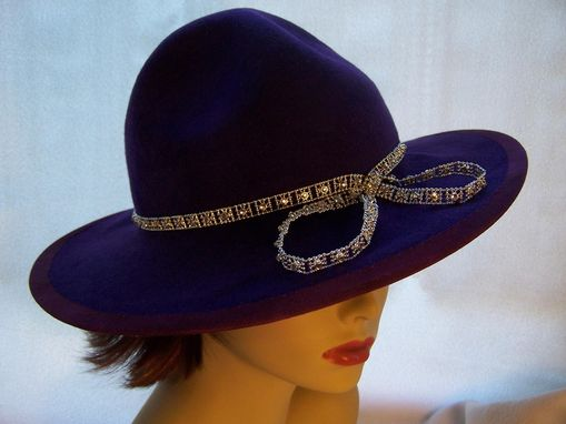 Custom Made Purple Military Crown With Bling