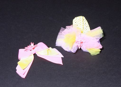 Custom Made Tulle Hair Accessories