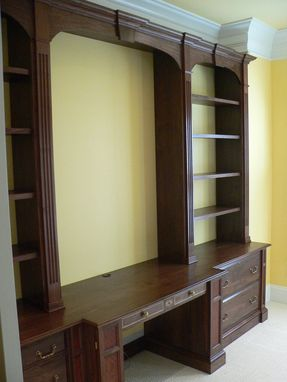 Custom Made Home Office Wall Unit