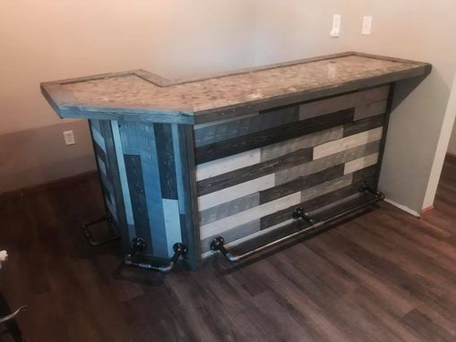 Custom Made Custom Rustic/Industrial Bar
