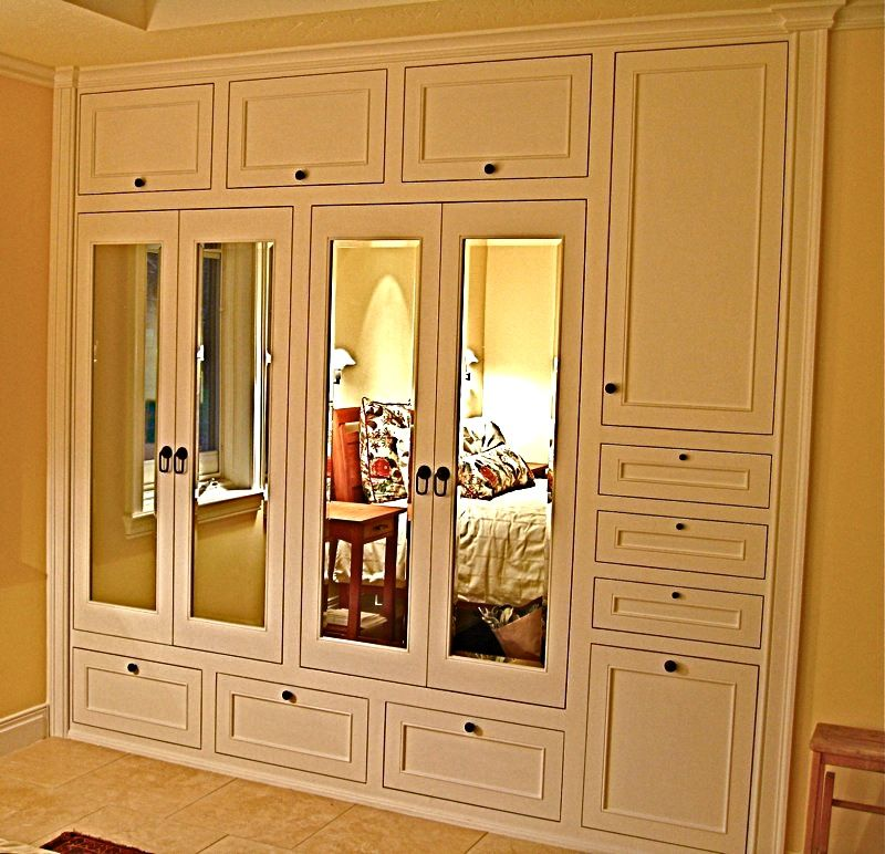 How To Make Built In Wardrobes With Sliding Doors: Handmade Custom Built-In His & Hers Closets By Ps