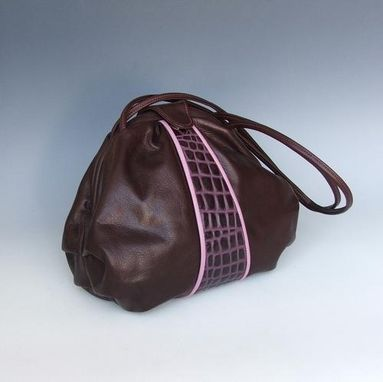 Custom Made Ellen-  Large Crescent Frame Bag
