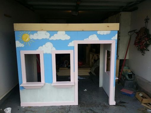 Custom Made Playhouse Beds