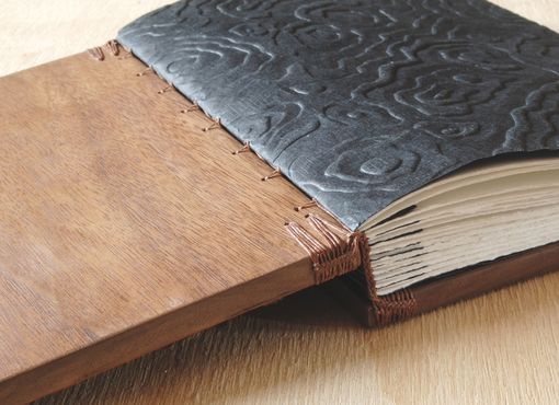 Custom Made Tree Bark Journal