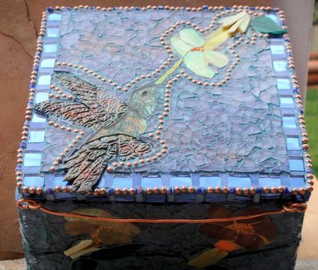 Custom Made Hummingbird Jewelry Box