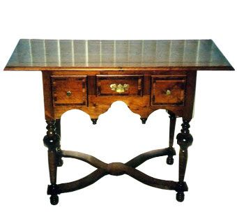 Custom Made Cherry Queen Anne Sideboard Or Hall Table