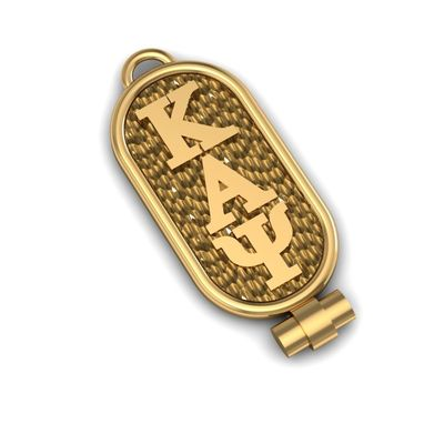 Custom Made Gold Sorority Pendant