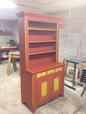 Custom Made Country Stepback Cupboard