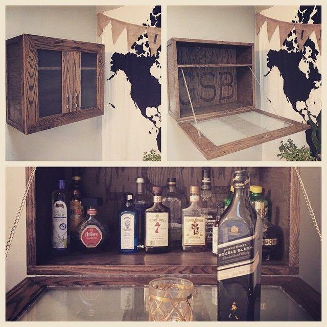 Custom Locking Liquor Cabinet By, Liquor Cabinet Lockable