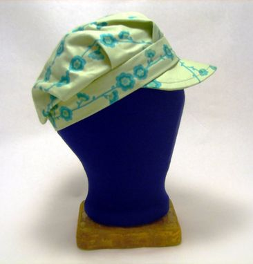 Custom Made Aqua Vine Engineer Hat
