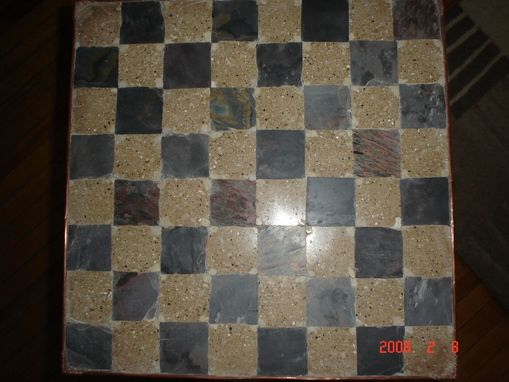 Custom Made Chess Board/ Game Board