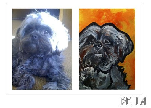 Custom Made Bella - Pawblo Picasso Pet Paintings