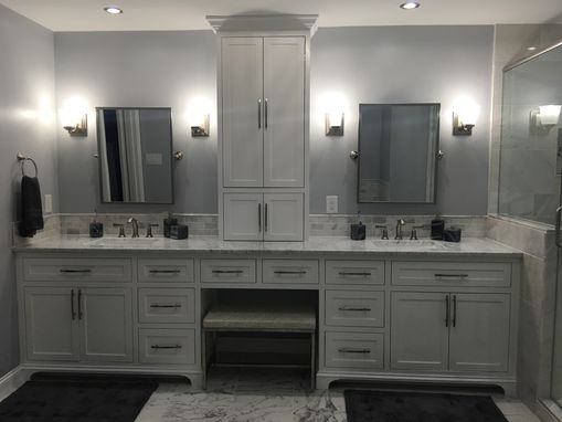 Hand Made Custom Build Bathroom Vanity By Jungle Woodwork