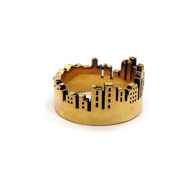 Custom Made Skyline Ring
