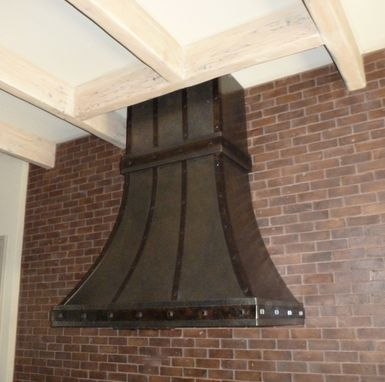 Custom Made Custom Wall Mount Kitchen Hood
