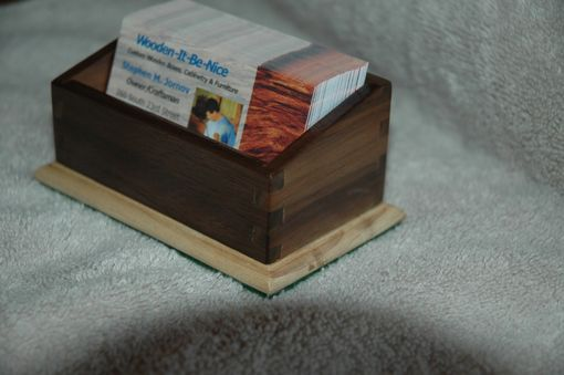 Custom Made Business Card Holder