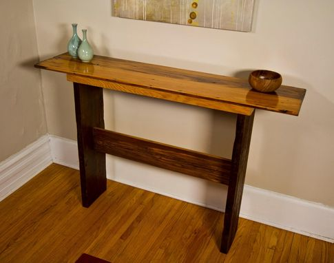 Custom Made Old Growth Cedar Top Buffet Table