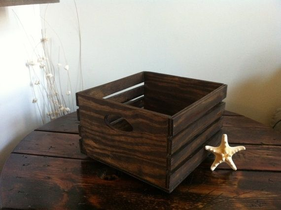Hand made rustic wood centerpiece box by jbjunk market