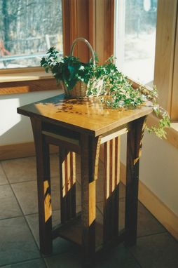 Custom Made Mission End Tables