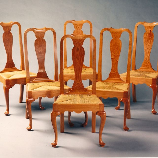 Hand Crafted Queen Anne Dining Room Chairs By Paula Garbarino Custom Furniture Custommade