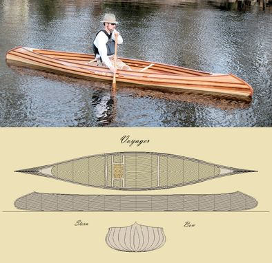 Custom Made 'The Voyager' Canoe Kit