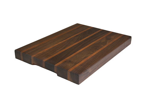 Custom Made Walnut And Cherry Cutting Board, Edge Grain